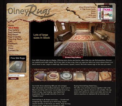 Olney Oriental Rugs Bespoke E Commerce Website Macro Design